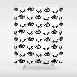 Follow / Unfollow Shower Curtain