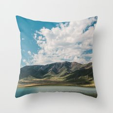 Utah Hills Throw Pillow