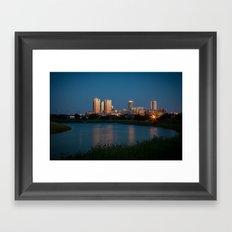Fort Worth, Texas Framed Art Print