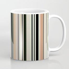 HIGH SOCIETY VINTAGE BEACH STRIPES 002 Coffee Mug