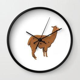 Adventure Alpaca My Bags Vacation Shirt Adventure Shirt Wall Clock
