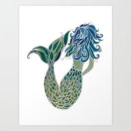 Mermaid 19 Art Print
