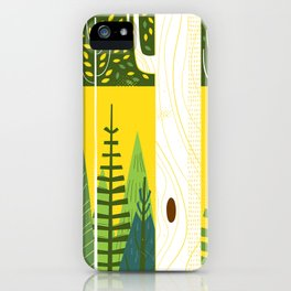 Joyful Trees iPhone Case