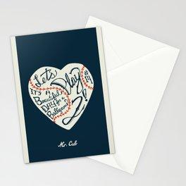 Mr. Cub Stationery Cards
