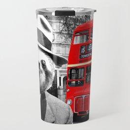 Sloth in London Travel Mug