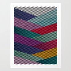 Shape series 6 Art Print
