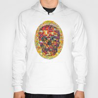 ashton irwin Hoodies featuring Ticket to Ride (1R) by Wayne Edson Bryan