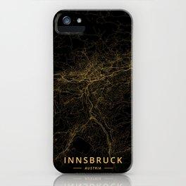 Innsbruck, Austria - Gold iPhone Case