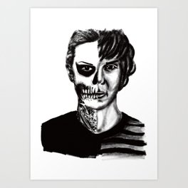 Tate from American Horror Story Art Print