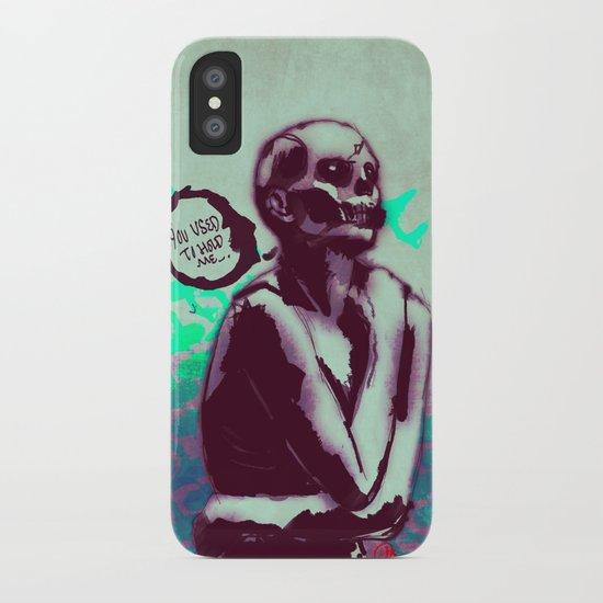 Desperate Zombie iPhone Case
