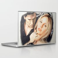 buffy Laptop & iPad Skins featuring Buffy - The Vampire Slayer by ChiaraG27
