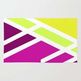 High colors - minimal Rug