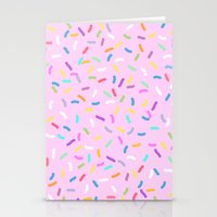 donut Stationery Cards featuring Donut  by Alexandra Aguilar