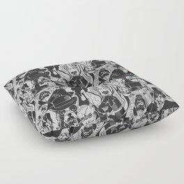 Dapper Dogs Floor Pillow