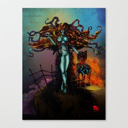 Thanatos Canvas Print