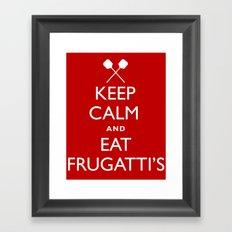EAT FRUGATTI'S Framed Art Print