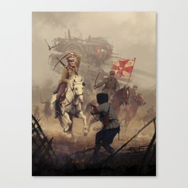 1920 - final charge Canvas Print