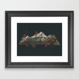 This mountain Framed Art Print