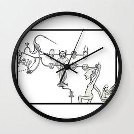 Tzompantli Wall Clock