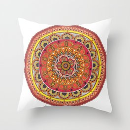 Mandala Art Throw Pillow
