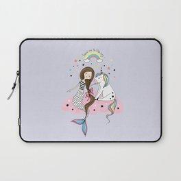Mermaid & Unicorn Laptop Sleeve