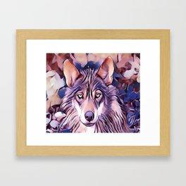 The Iberian Wolf Framed Art Print