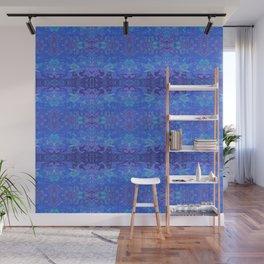 Blue Lagoon Abstract Watercolor Wall Mural