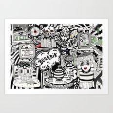 Beatnik Art Print