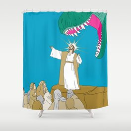 Jesus, Etc. Shower Curtain