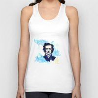 poe Tank Tops featuring POE by Jon Cain