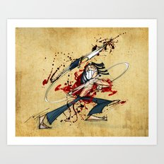 Ninja Assassin Art Print