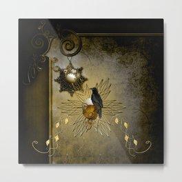 Wonderful crow Metal Print