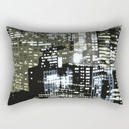 Night City 1 Rectangular Pillow
