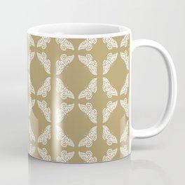 Teak Arts and Crafts Butterflies Coffee Mug