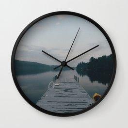 Eerie dusk Wall Clock