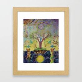 Henosis Framed Art Print
