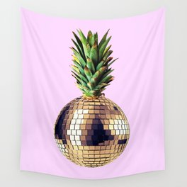 Ananas party (pineapple) Pink version Wall Tapestry
