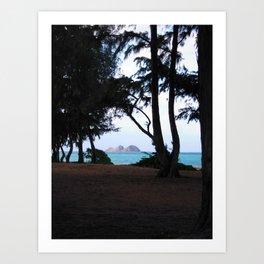 WAIMANALO BEACH 2 Art Print
