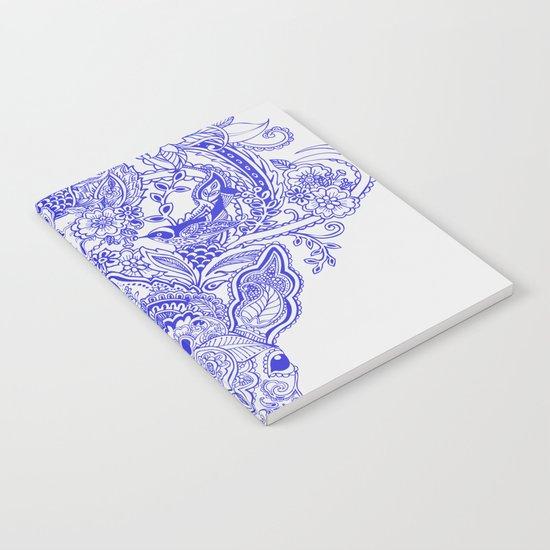 Little Blue Deer Notebook