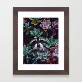 hello, you look gorgeous today. Framed Art Print
