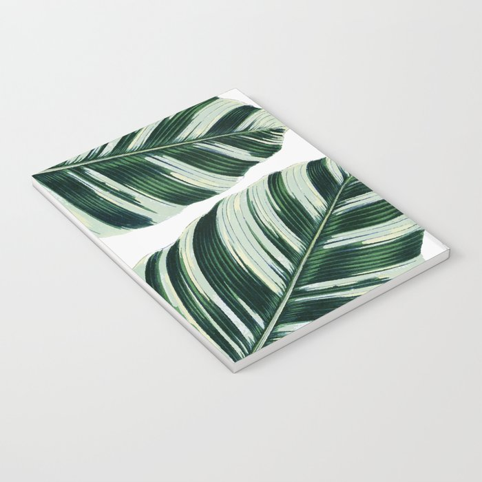 Tropical Foliage #society6 #buyart #decor Notebook