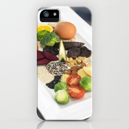 Healty natural food iPhone Case