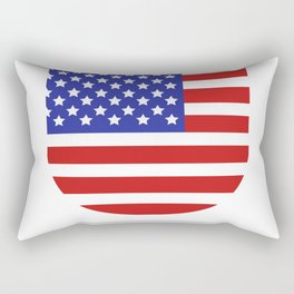 United States flag Rectangular Pillow