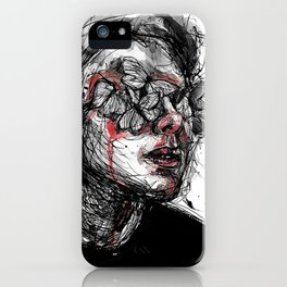 Deep wounds iPhone Case