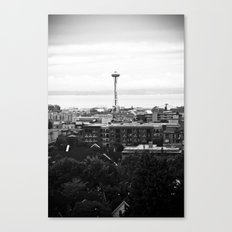 Dear Space Needle, I miss you. Canvas Print