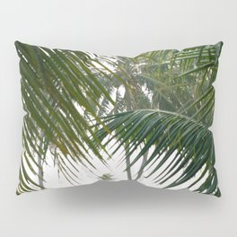 Exotic Palm Trees Pillow Sham