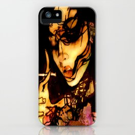 Apology Gurl iPhone Case