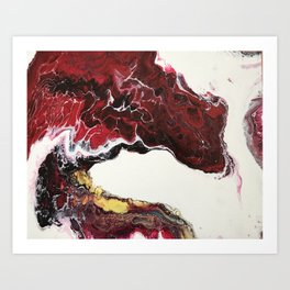 Mouth of the Dragon Art Print