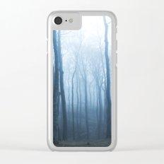 Foggy Woods #society6 #buyart Clear iPhone Case