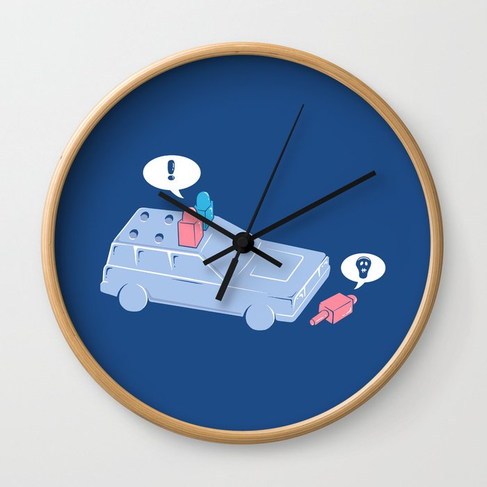 Life is Tragic Wall Clock